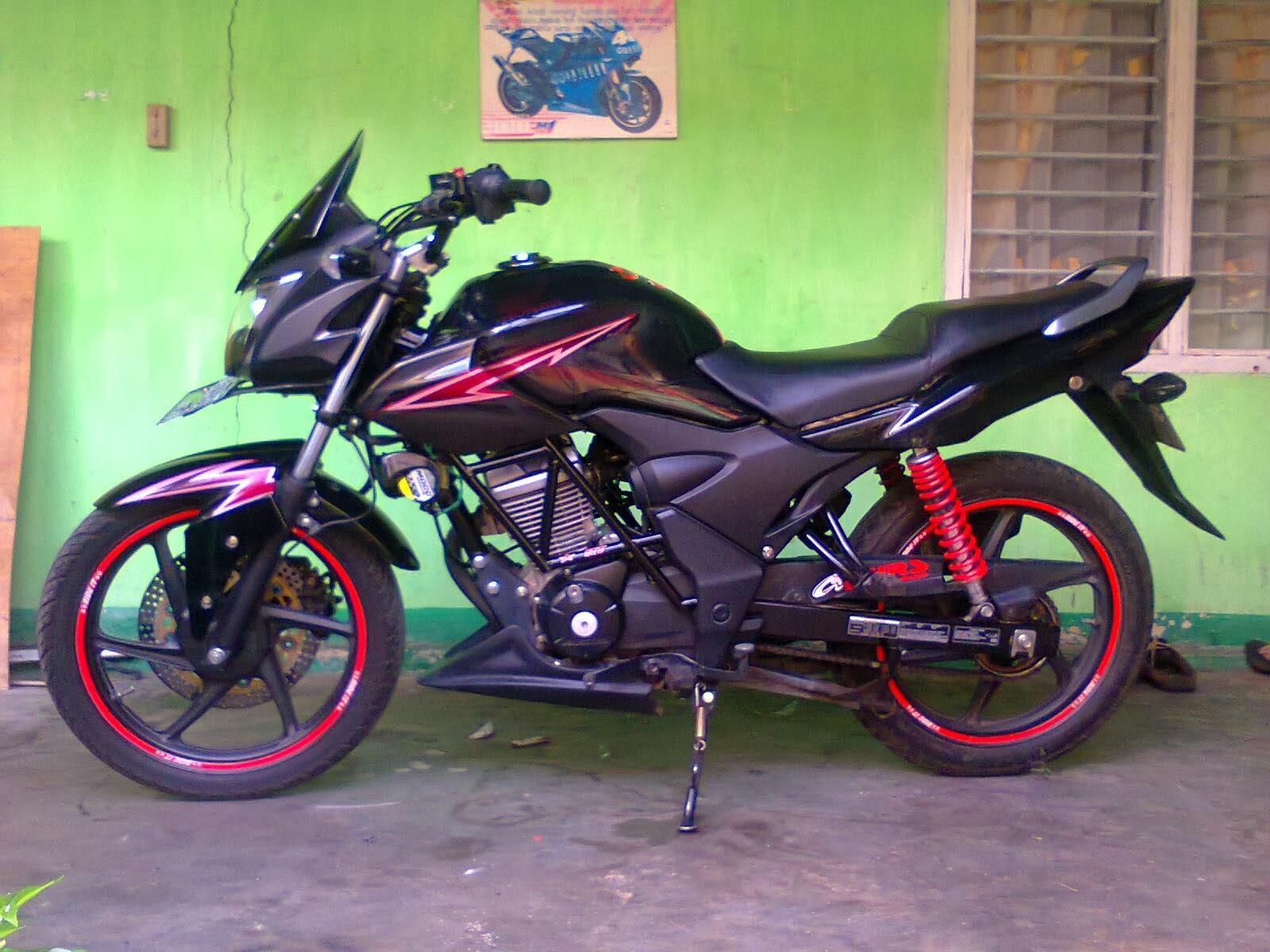 Verza Fairing Simpel Modifikasi Honda CBR Tiger Mega Pro