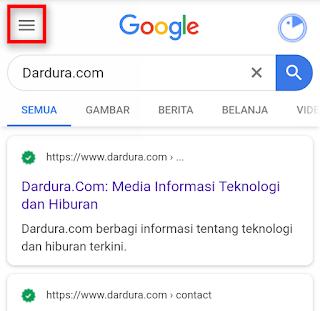 Cara Menonaktifkan SafeSearch Google Pada Browser Chrome di HP Android Dengan Mudah
