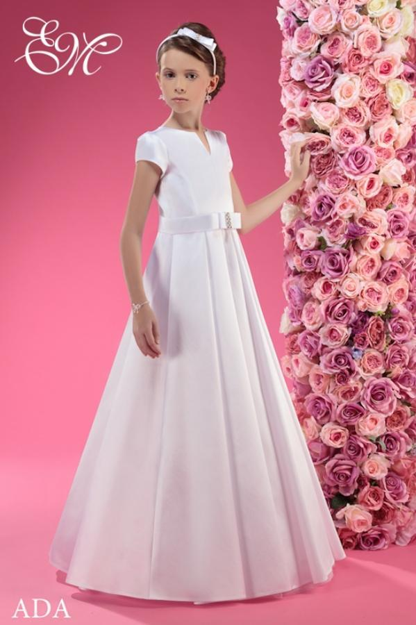 5d95fffeba Idealna sukienka komunijna - skromna a zarazem elegancka!