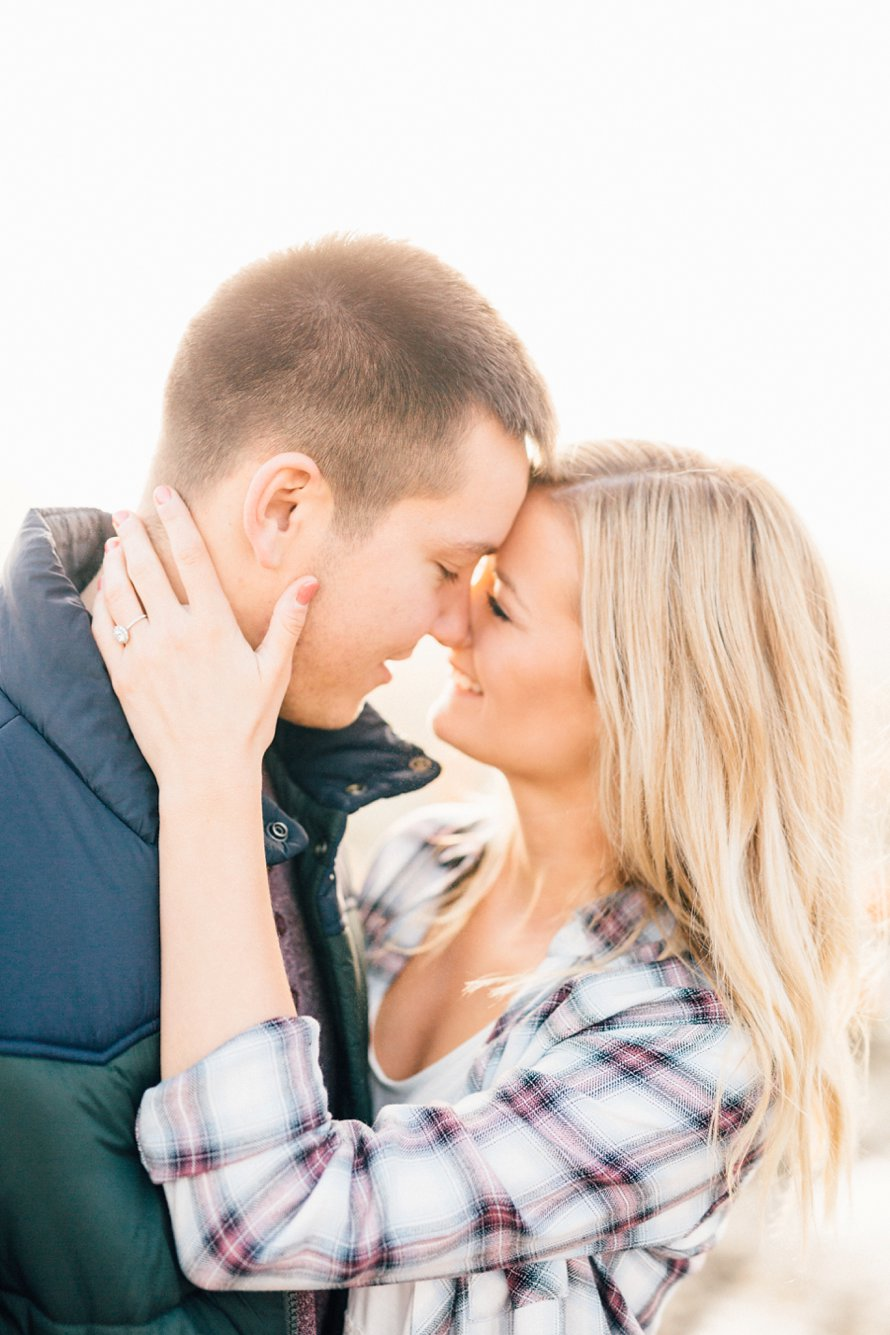 Dreamy Fall Engagement Photography at Picha Farms by Something Minted