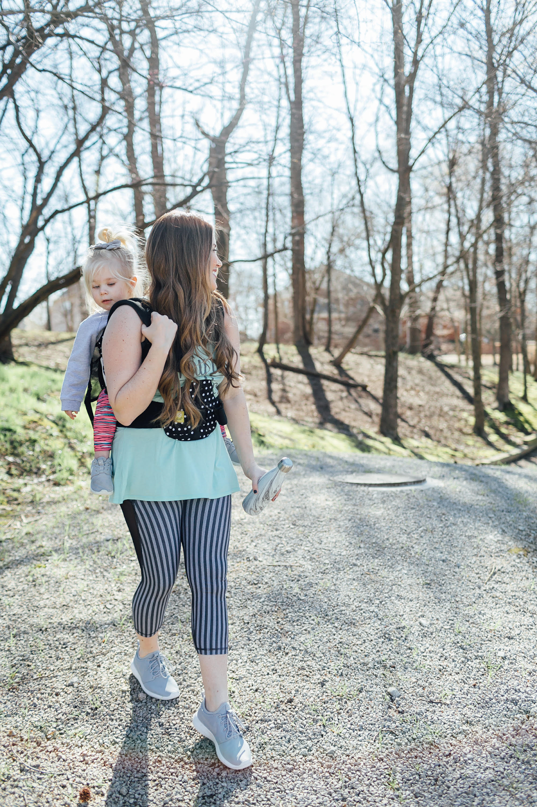 How To Workout With Kids by Walking in Memphis in High Heels: Babywearing