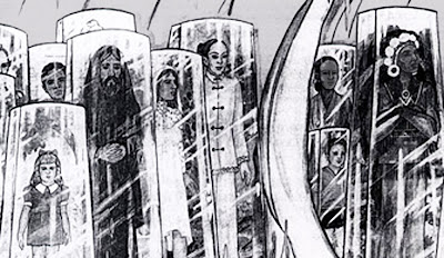 Hidden experience the evolutionary triad the illustration below was drawn by betty andeasson luca and it depicts a series of glass chambers and they show their own evolutionary scheme fandeluxe Image collections