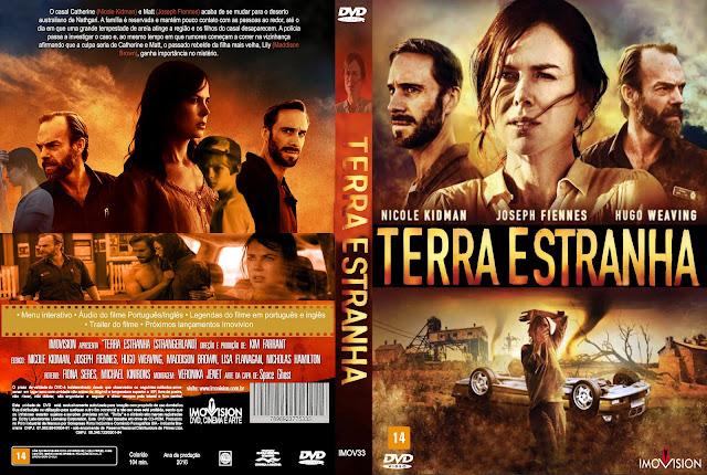 Capa DVD Terra Estranha
