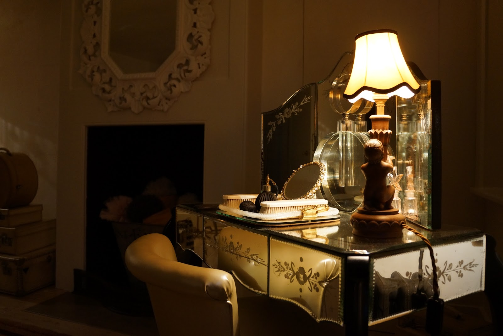 dressing up table at 40 winks hotel