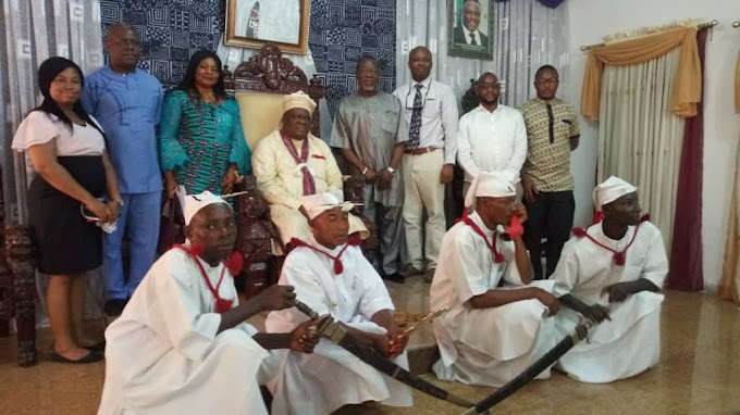 OBONG OF CALABAR PLEDGES SUPPORT TO EYE DOCTORS.