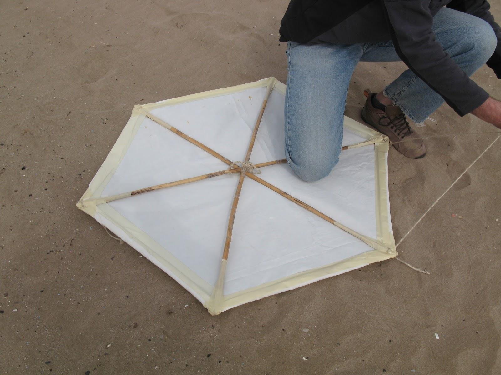 Cómo Construir Una Cometa Hexagonal Con Materiales Reciclados Cometas Al Sol
