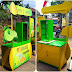 Booth Portable Lime Squash Rp 2.800.000