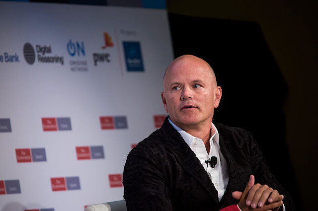 Ex-Wall Streeter Michael Novogratz Is Investing in a Cryptocurrency Startup