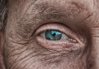 old man's eye