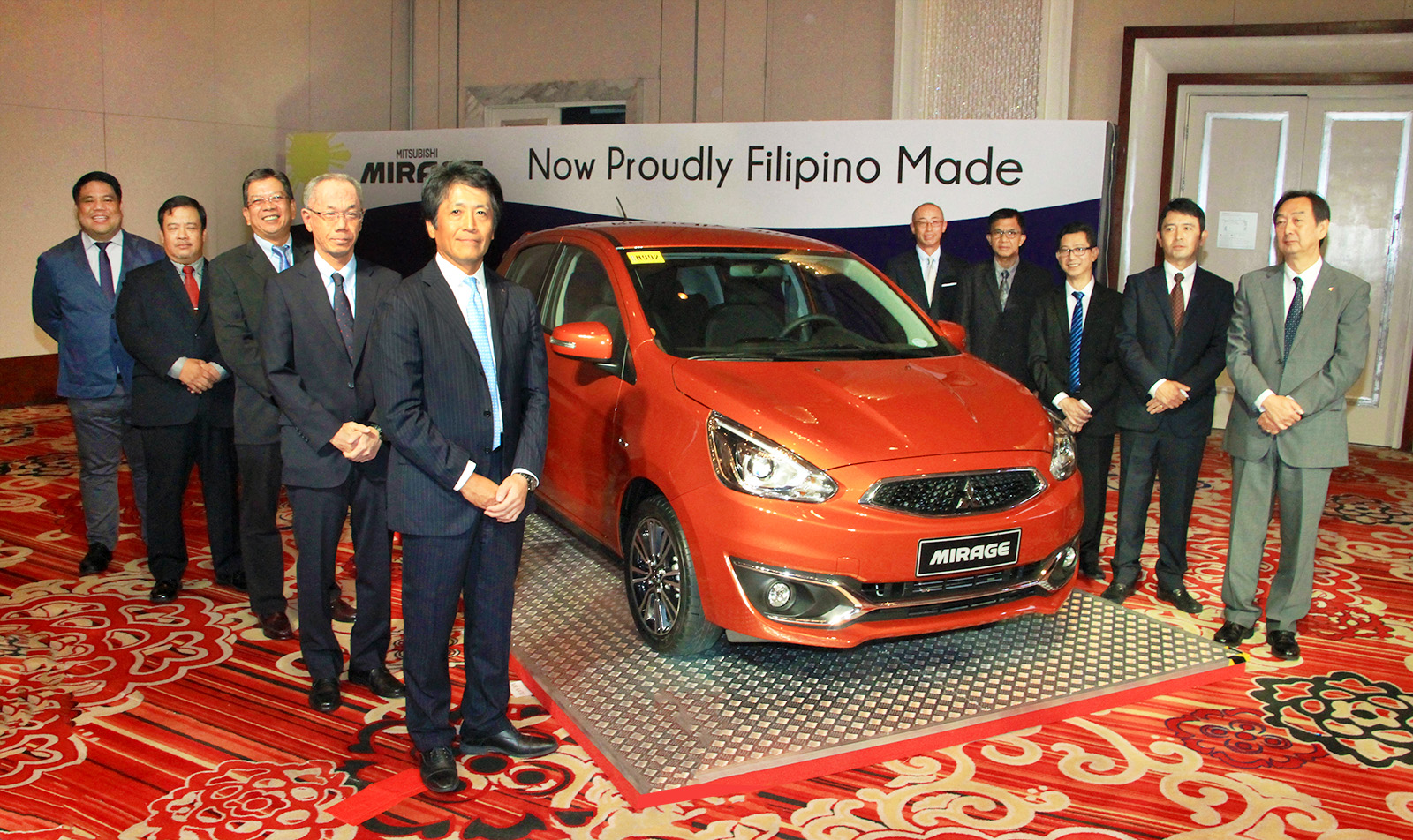 Mitsubishi Motors starts mass production of Mirage Hatchback in the Philippines