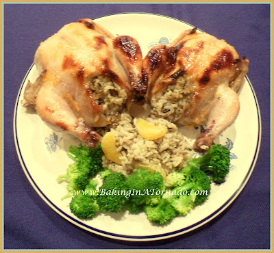 Smoky Orange Cornish Hen | www.BakingInATornado.com | #recipe #dinner