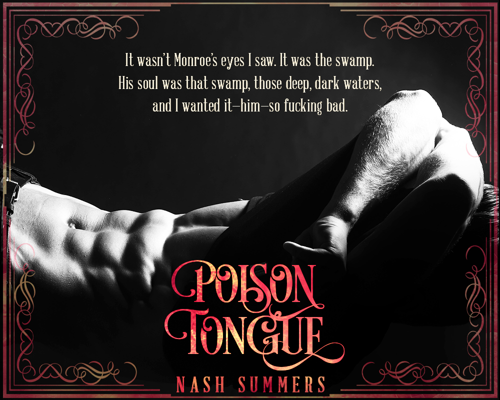 Bayou Book Junkie: Promo Post: Poison Tongue by Nash Summers