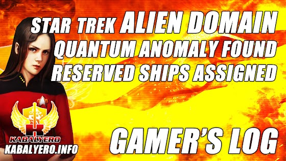 Quantum Anomaly Found ★ Reserved Ships Created In Star Trek Alien Domain (Gamer's Log)
