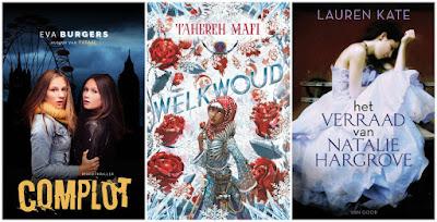 Eva Burgers, Tahereh Mafi, Lauren Kate, Fontein, Blossom Books, Van Goor