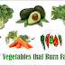Vegetables that help to burn fat fast