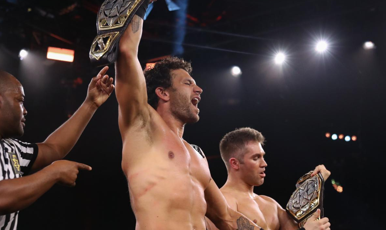 Tyler Breeze e Fandango são os novos NXT Tag Team Champions