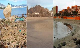 QUE ESTA PASANDO? Se retira el mar en Acapulco, Veracruz y Sonora en México.