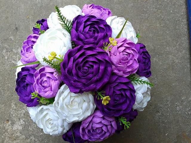 nguyen lieu lam hoa giay nhun tai yen hoa