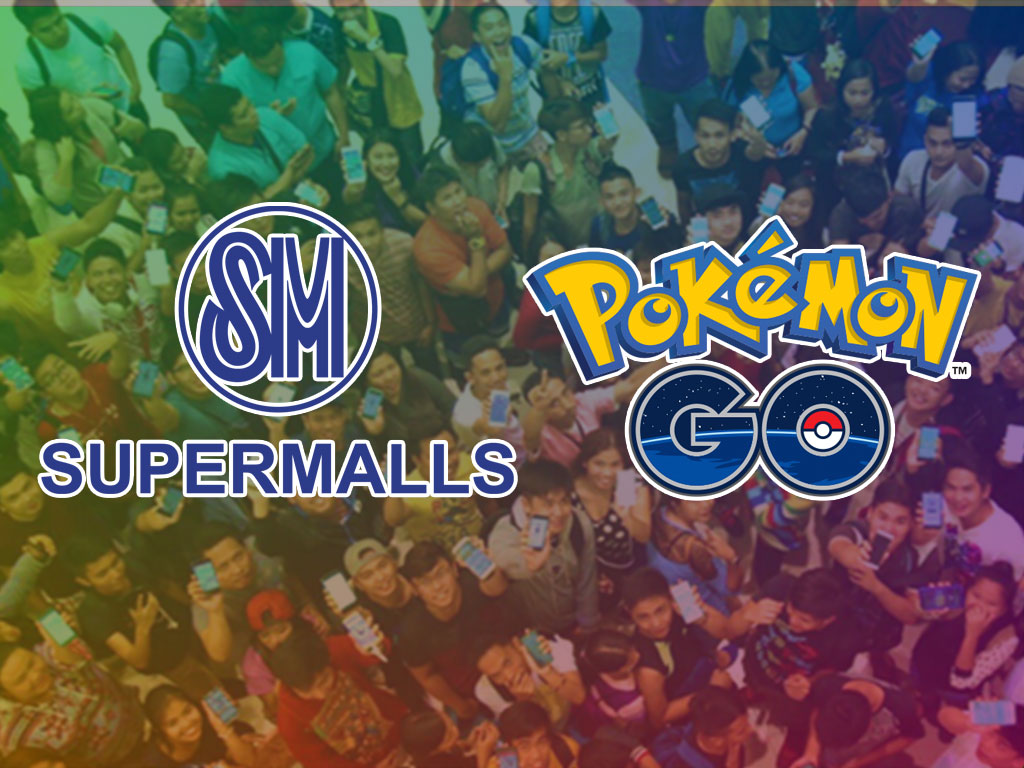 SM Supermalls and Pokemon GO Lure Party