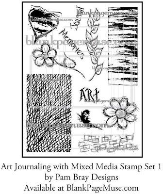 http://blankpagemuse.com/art-journaling-mixed-media-stamps-set-1-pam-bray-designs-pb006/