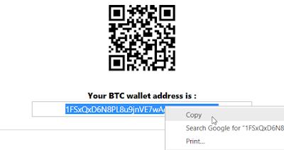 Cara Deposit Bitcoin ke Bitconnectx