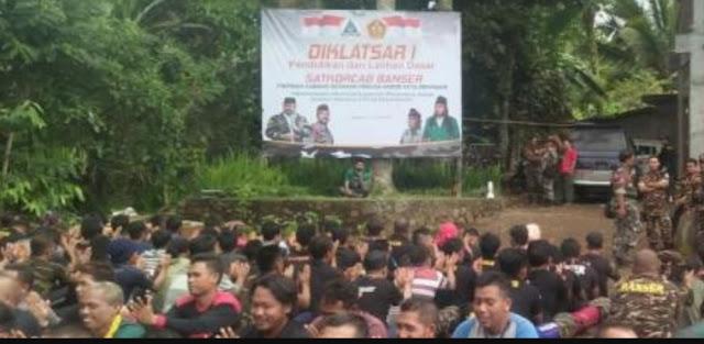 Tiga Mualaf Ikut Diklatsar Banser Denpasar