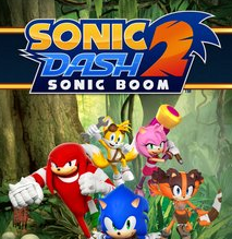 تحميل لعبة سونيك داش بوم 2 sonic dash 2 sonic boom للاندرويد اخر اصدار برابط مباشر