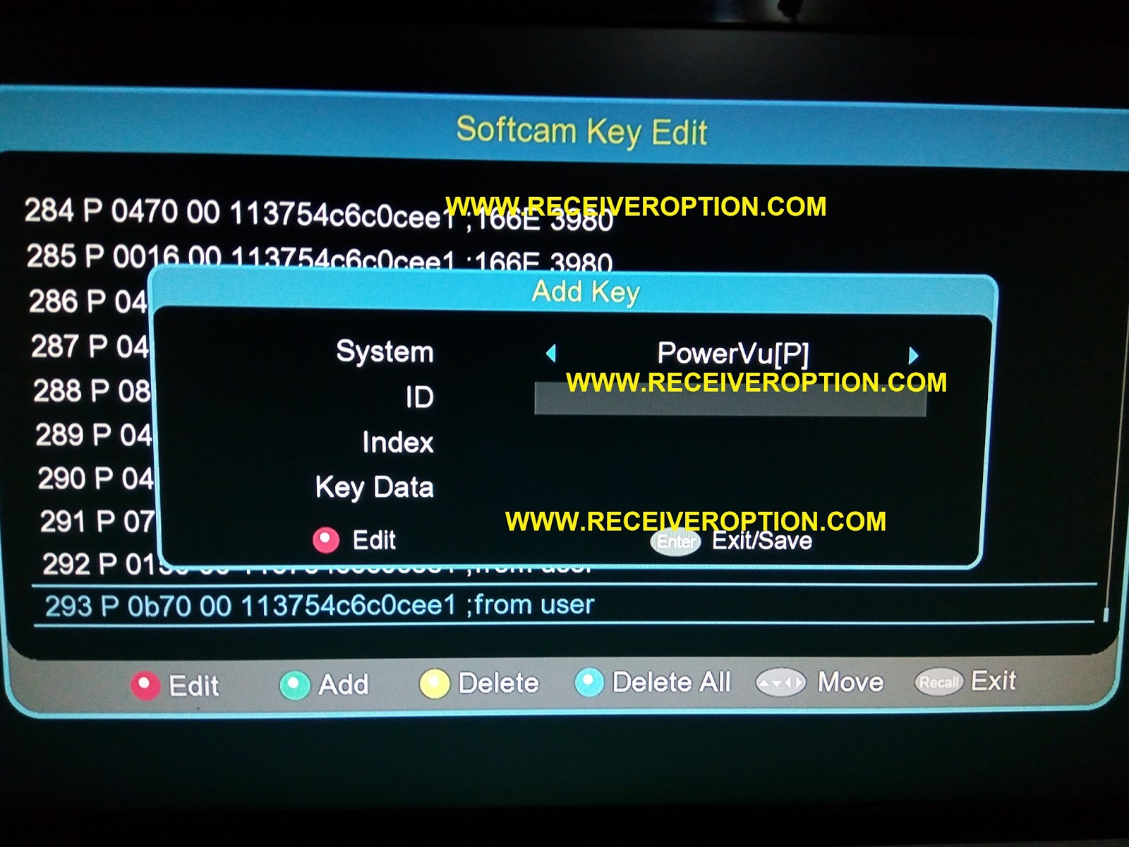 ECHOLINK 770D HD RECEIVER POWERVU KEY SOFTWARE - HOW TO