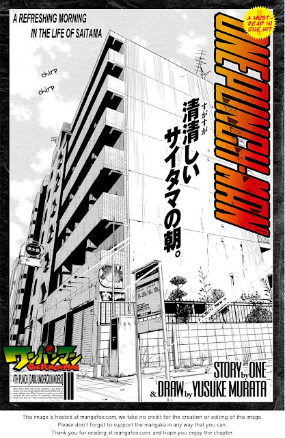 ONE PUNCH MAN CHAPTER 4 Page 1