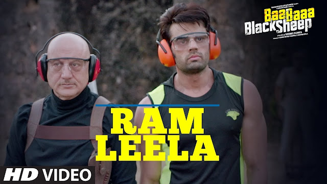 Ram Leela Song Lyrics    Baa Baaa Black Sheep   Anupam Kher   Maniesh Paul   Manjari Fadnnis