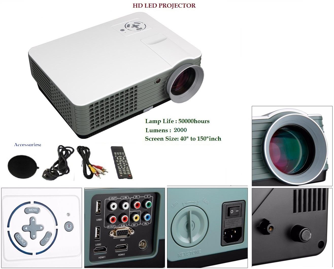 Unic36 Hd Led Projector Epson Eb W04