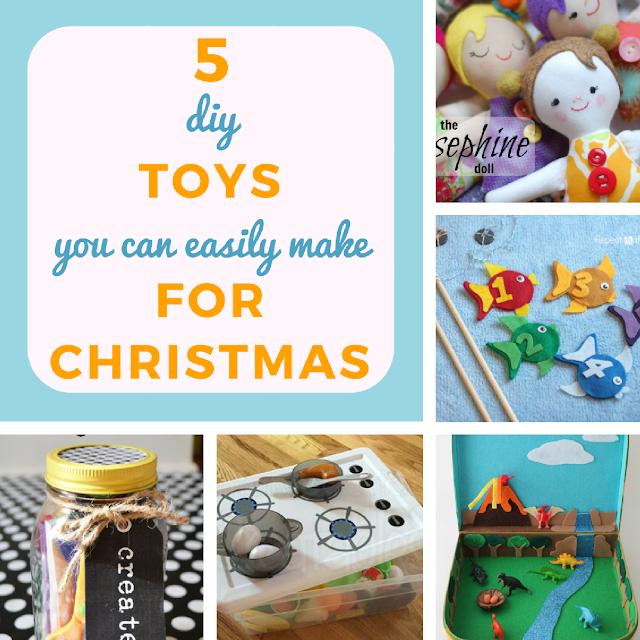 5 DIY toys you can easily make for Christmas