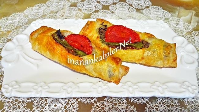 Kayık Böreği Sunumu - www.inanankalpler.net