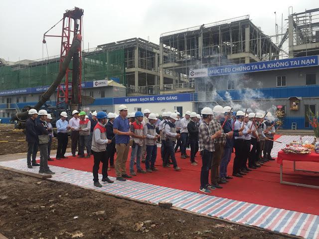 Lễ khởi công dự án nhà ở xã hội Hope Residences Phúc Đồng Long Biên