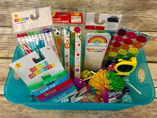 What to put inside a birthday bucket to celebrate students' birthdays at school