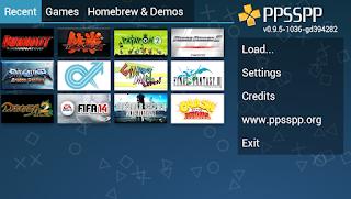 Emulator Android PPSSPP gold Gratis