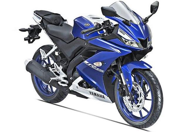 Yamaha YZF R15 V3 sport bike