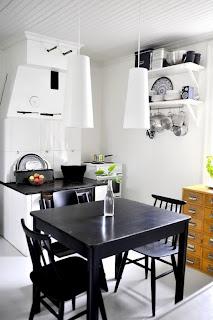 Hermosa cocina pequeña