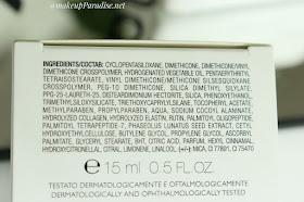 Collistar MakeUp Base primer sastojci
