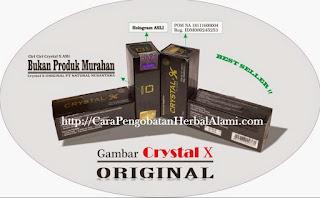 Khasiat Crystal X Asli Original Mengatasi keputihan dan Kewanitaan
