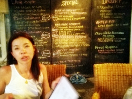 バリ島グルメ情報☆MonaLisa Cafe Sanur