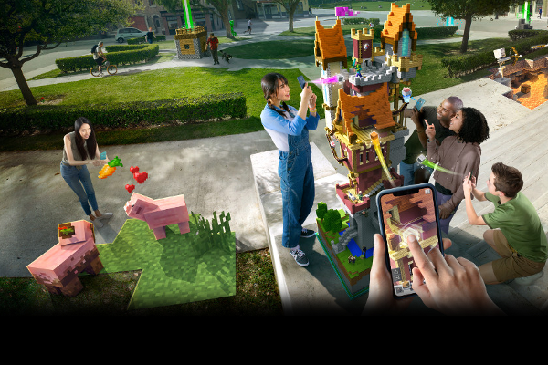 Microsoft announces Minecraft Earth augmented reality (AR) game for Android and iOS