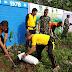 Wakapolsek Babelan hadiri penanaman pohon sukun di sepanjang jalan irigasi Desa Babelan Kota