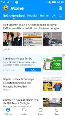 Aplikasi Rame Android