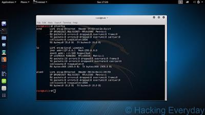 REAVER : Hack Wifi WPA2-PSK dengan Linux ifconfig