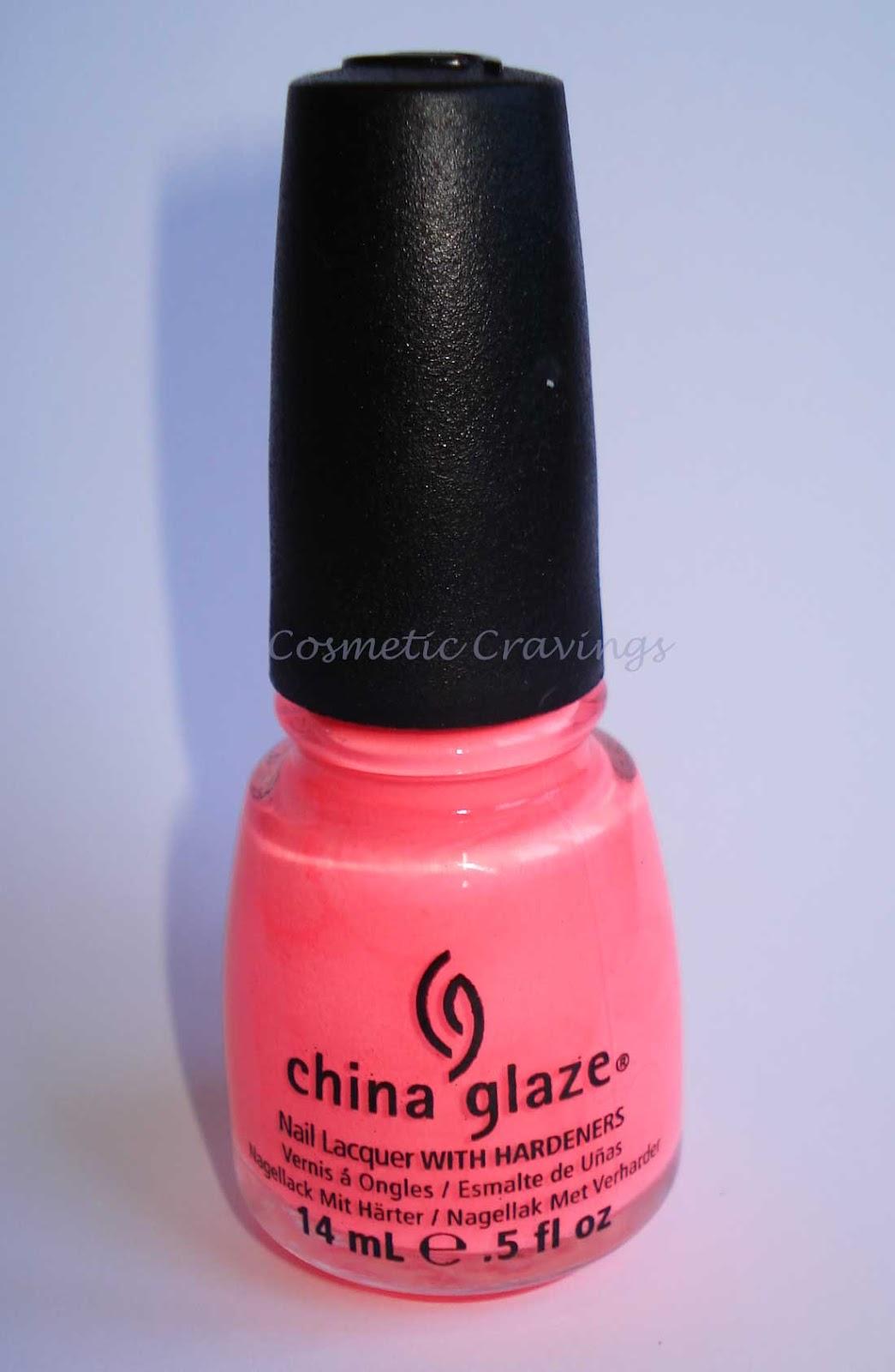 China Glaze Presenta Crakle Glaze: Cosmetic Cravings: China Glaze Flip Flop Fantasy