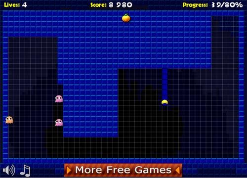 لعبة باك مان الجديدة Pacxon 2 للكمبيوتر