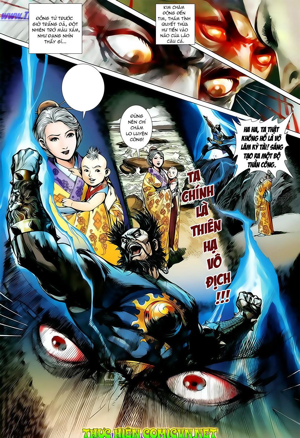 truyện tranh thiết tướng tung hoành Chapter 10/