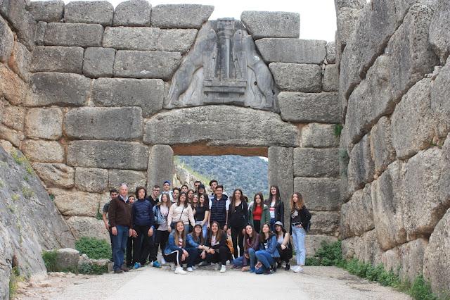 Εκπαιδευτική Επίσκεψη στην Αργολίδα και την Ύδρα από μαθητές του Γυμνασίου Λιτοχώρου