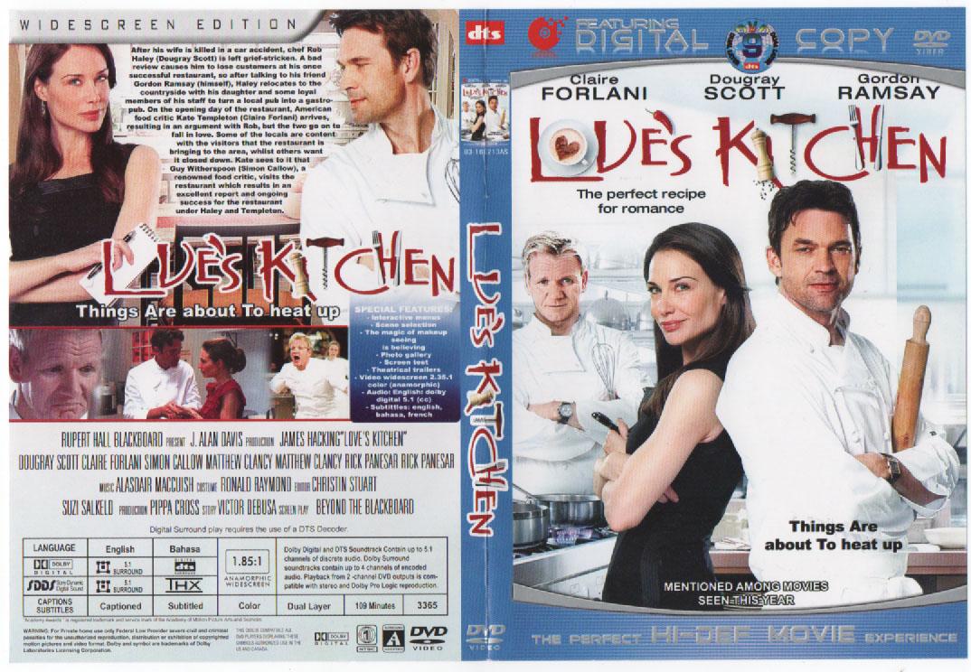 Movie Shop Loves Kitchen DVD 2011
